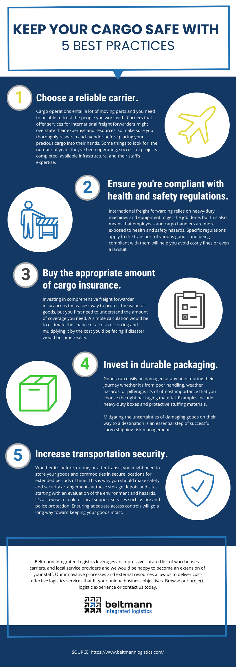 BIL - Keep Your Cargo Safe With 5 Best Practices Infographic-1