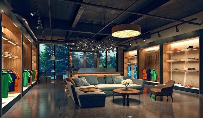 Fashion store interior-1